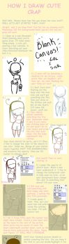HOW I DRAW CUTE CRAP PART ONE by DoctoramalL