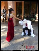 Ada Wong and Allen Walker Love by darkphantomhive