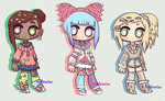 LustarPlanet Collab ( 2/3 OPEN | SET PRICE) by hello-planet-chan