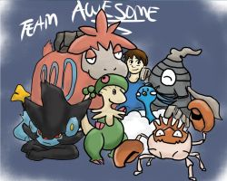 Team Awesome by WaywornDrifter