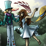 Commission- Chroma and Celeste by spookydoom