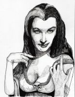 Lily Munster by thewalkingman