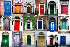 Doors in Dublin by enspire