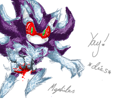 iScribble - Mephiles the Dark by BlueNeedle-Inu