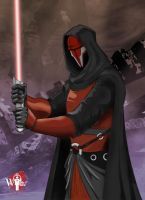 Darth Revan by WiL-Woods