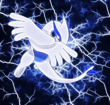 lugia ready for action by Elsdrake