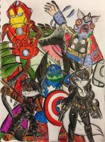 TMNT/Avengers: Mighty Mutanimals Assemble! by XxMoonlight-1-WishxX