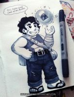 Little Warrior Steven by HazuraSinner