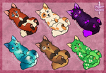 Canine Adopts (Points) - OPEN by Daggerstale-Adopts