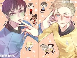Star Trek - Touching You by ionahi