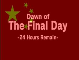 Dawn of the final day 24 hours remain by OhioErieCanalGirl