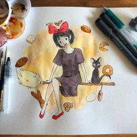 Kiki's Delivery Service by ForeverPi