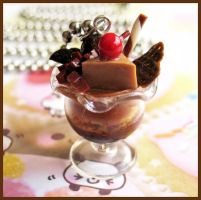 Choco Parfait Necklace by cherryboop
