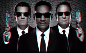 MIB3 poster 3-D conversion by MVRamsey