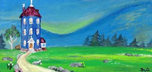 Moomin Valley by wolfheart23