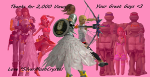 Thanks for 2,000 Views by SilverMoonCrystal