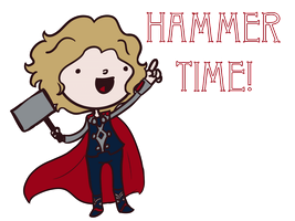 Thor: Hammer Time! by saladsalty