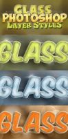 Photosho-Glass-Styles by arEa50oNe