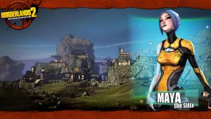 Borderlands 2 Wallpaper - Grass (Maya) by mentalmars