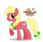 Apple Parents: Honey Blossom by LugiaAngel