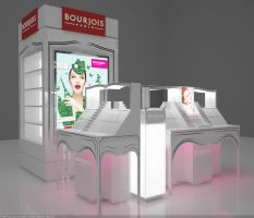 Bourjois counter by hobigrafix