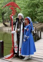 Trinity Blood: Esther and Abel by hbdudu
