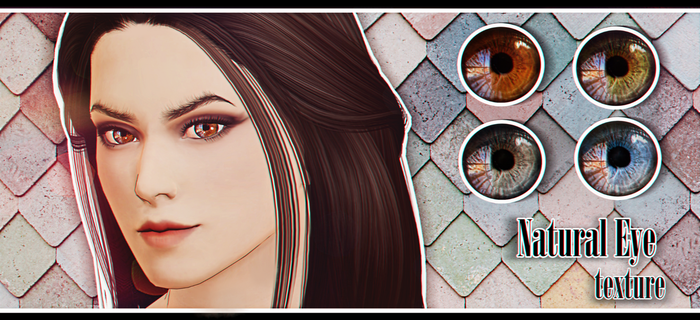 Natural Eye texture [DL] by Katoroo