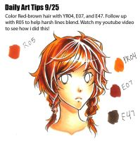 Daily Art Tips 9/25 by Mireielle