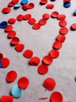 hole punched heart by smilejustbcuz