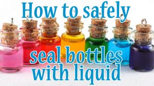 How to safely seal bottles - video tutorial by FrozenNote