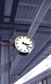 Clock Station 5256804 by StockProject1