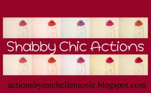 Shabby Chic Actions by chupla