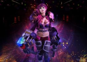 Here comes Vi by Becs-Cos-Wonderland