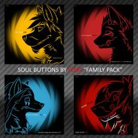 Soul Buttons [Family Pack] by Fleki