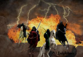 The Four Horsemen by LadyArtemis78