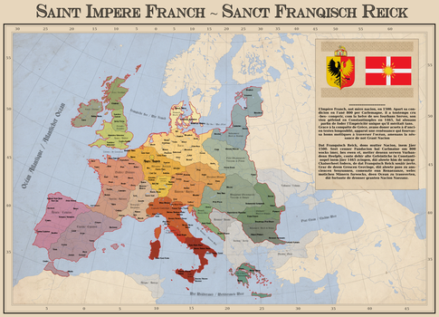 The Holy Frankish Empire by Arminius1871