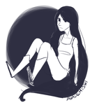 Oh, Marceline, why are you so mean? by avademiswi