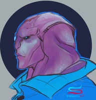 Jaal- Mass Effect Andromeda by CrazySuperior