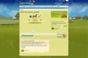 Howrse Cup Home Page by Thunderbolt-Designs
