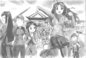 Love Hina by Huy-N