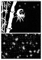Screentones Starry Sky 4 by bakenekogirl