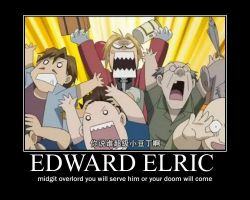 Edward elric motivational poster by demyxxigbar