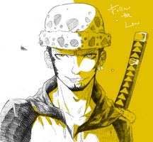 Trafalgar Law by XiaFei