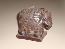 Asian Elephant Candle by OregonSamurai