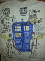 Doctor Who shirt Back by drewthelegend