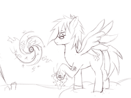 cloud Storm WIP by neutraLwOLves