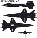 North American X-15 by bagera3005