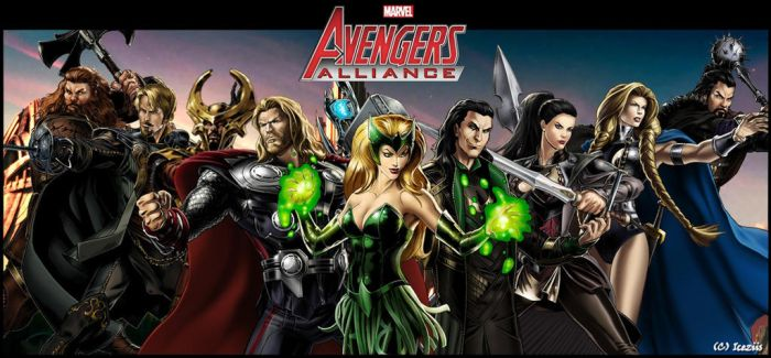 Marvel Avengers Alliance [Asgardians] by icequeen654123