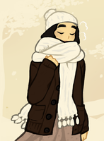 cold weather by White-pine