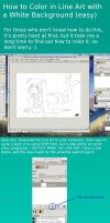 How to Color Line Art with a White Background by NeoSailorCrystal